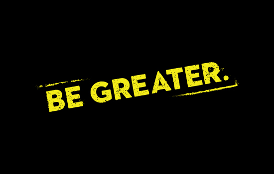 Featured Image of Be Greater